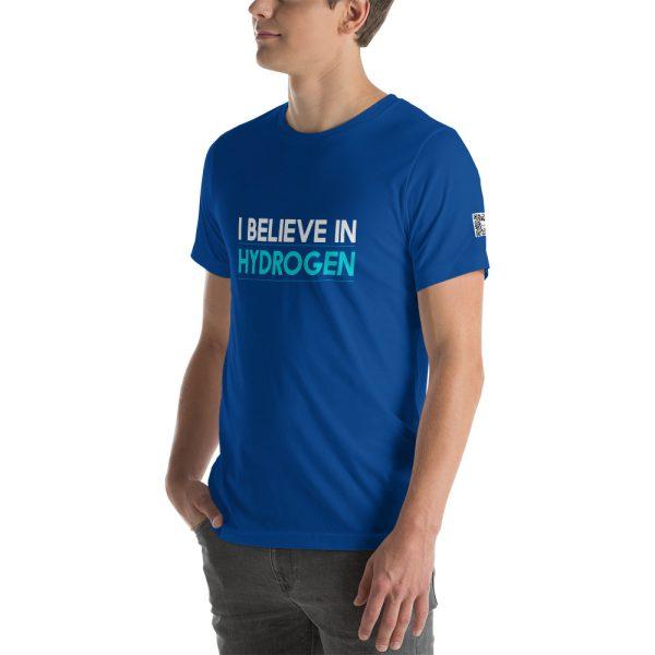 I Believe in Hydrogen Short-Sleeve Unisex T-Shirt - Multiple Colors 49