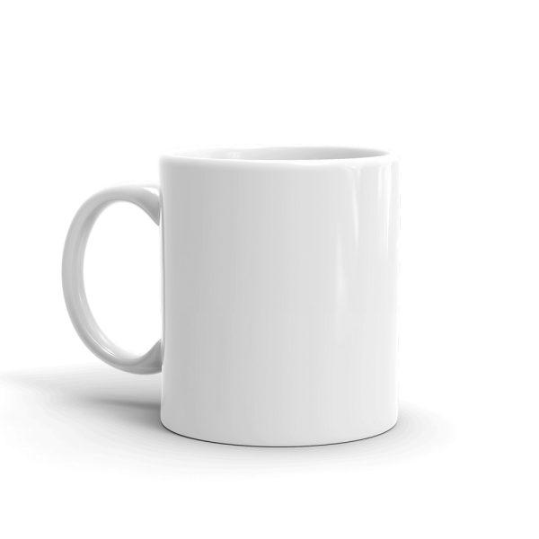 Astronaut Clean Energy White glossy mug 2