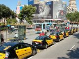 Fuel cell taxis - Taxis in Barcelona, Spain