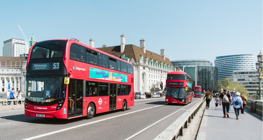 London's first hydrogen double decker bus hits the streets