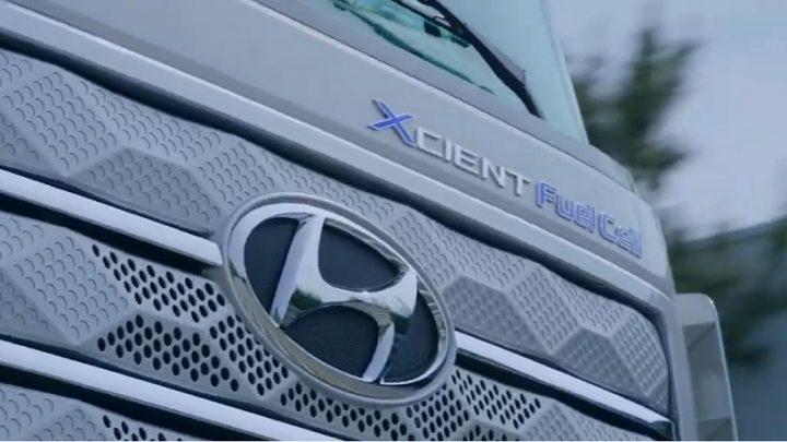 Hyundai Xcient truck matches GMC Hummer EV battery capacity