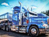 Low-emission hydrogen trucks - Image of heavy-duty truck