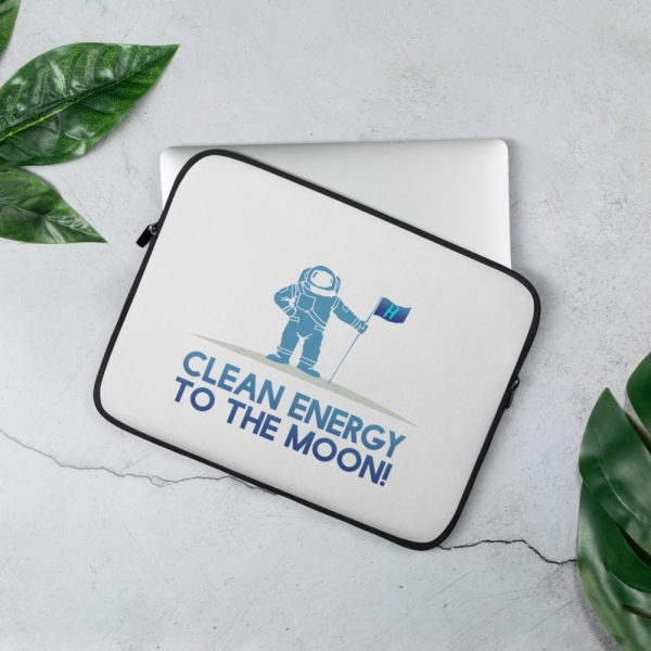 To The Moon Laptop Sleeve 1