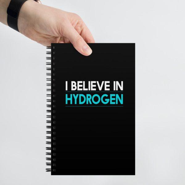 I Believe in Hydrogen Spiral notebook 1