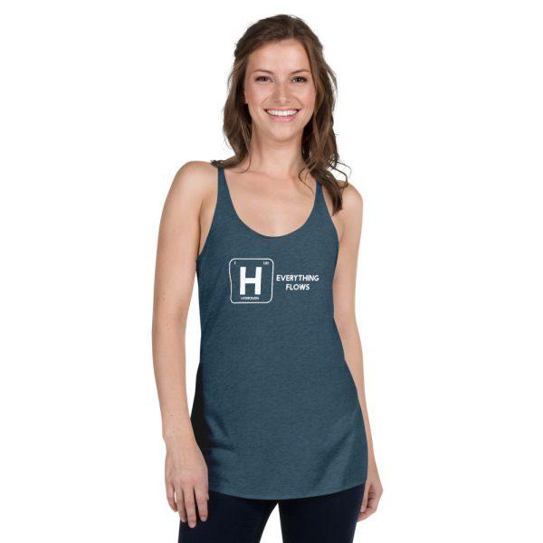 Hydrogen Element Women's Racerback Tank 7