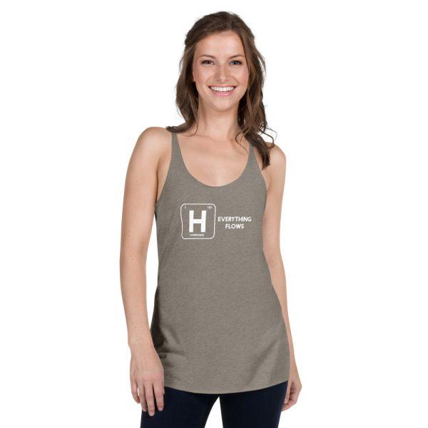 Hydrogen Element Women's Racerback Tank 15