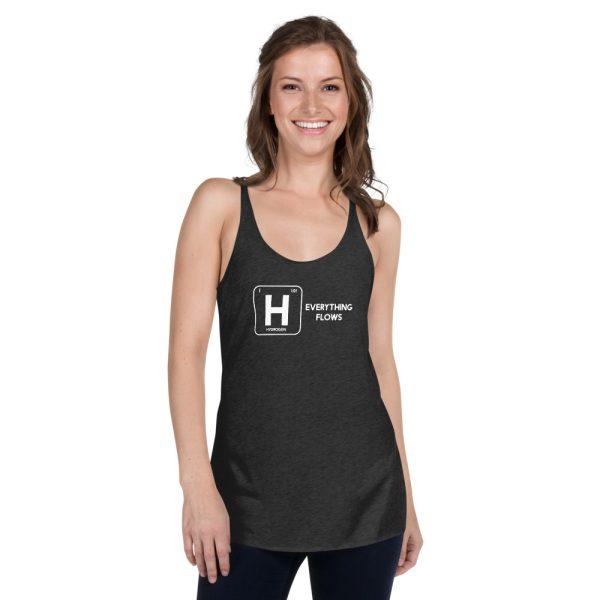 Hydrogen Element Women's Racerback Tank 1