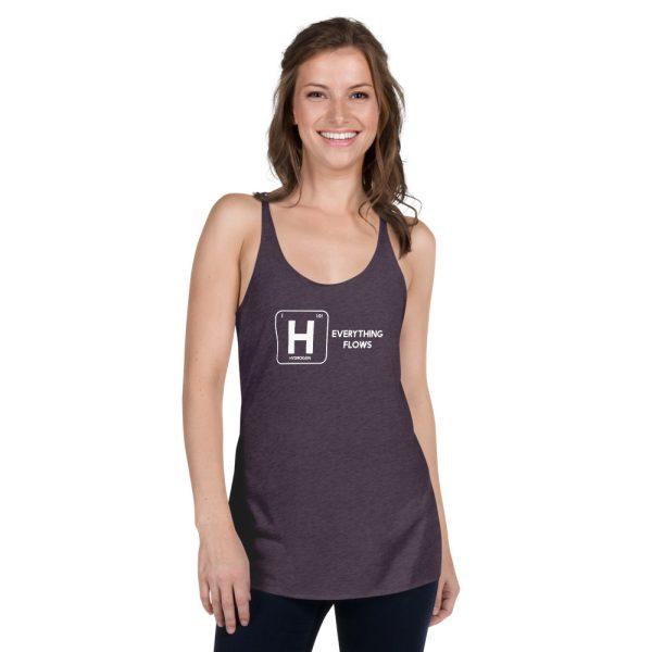 Hydrogen Element Women's Racerback Tank 6