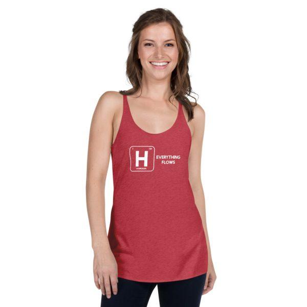Hydrogen Element Women's Racerback Tank 9