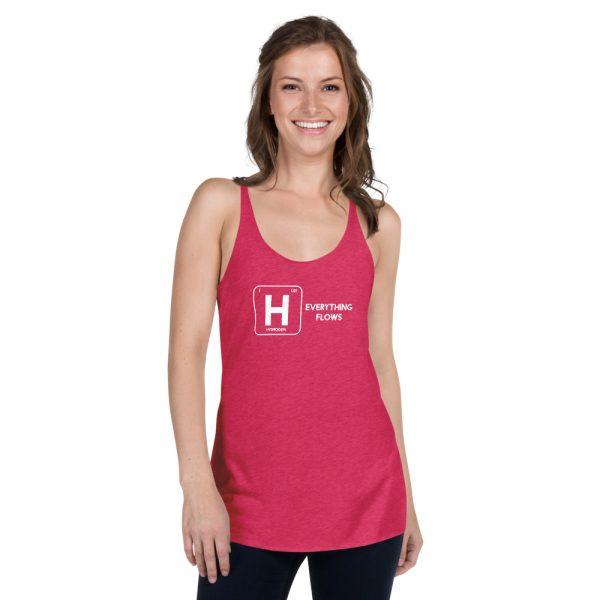 Hydrogen Element Women's Racerback Tank 10