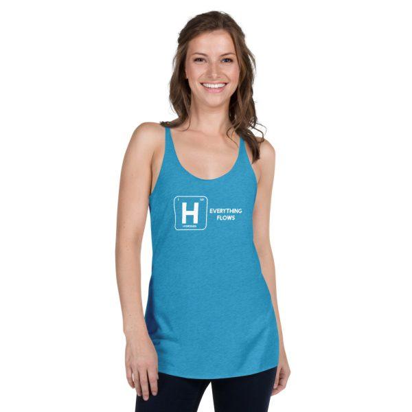 Hydrogen Element Women's Racerback Tank 13