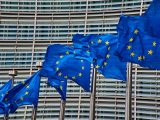 Hydrogen Fuel use - EU flags outside of European Commission