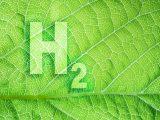 Green hydrogen energy - H2 leaf