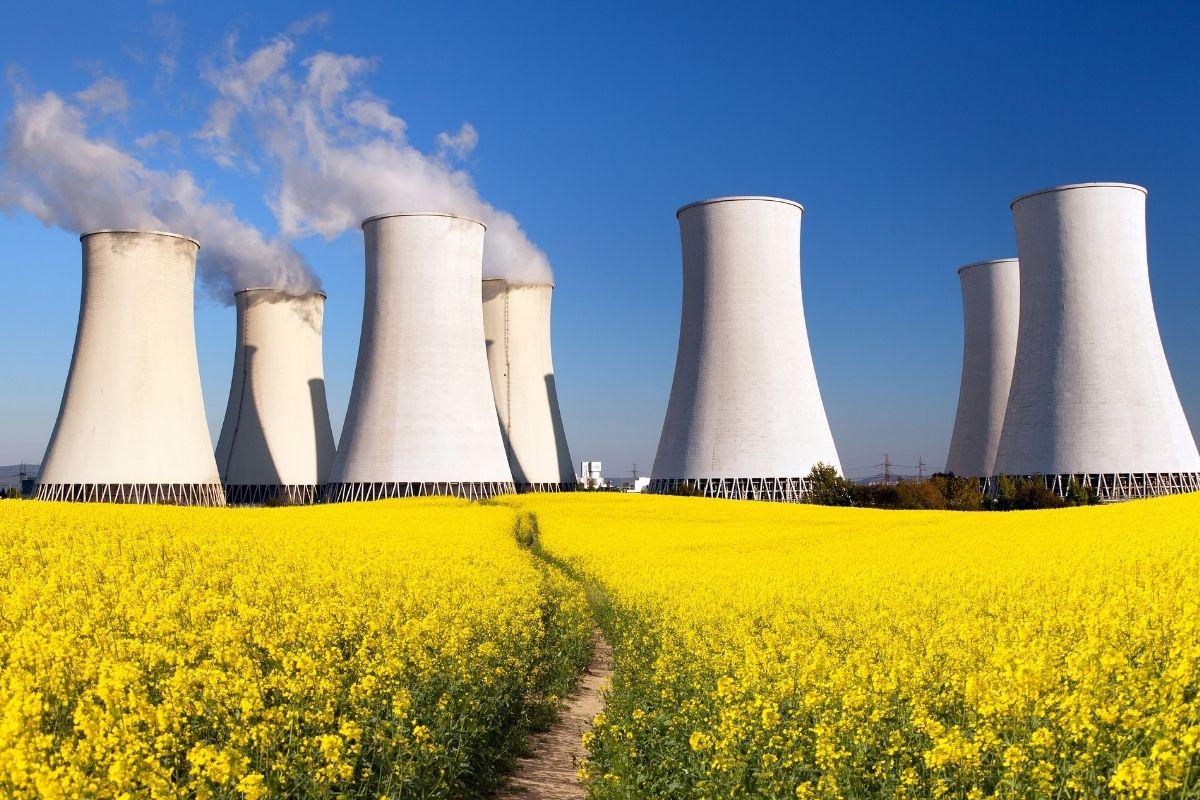 Pink hydrogen - nuclear power