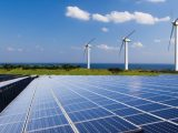 renewable electricity - wind and solar power
