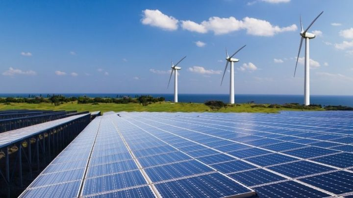 Renewable electricity was the second most common US source last year