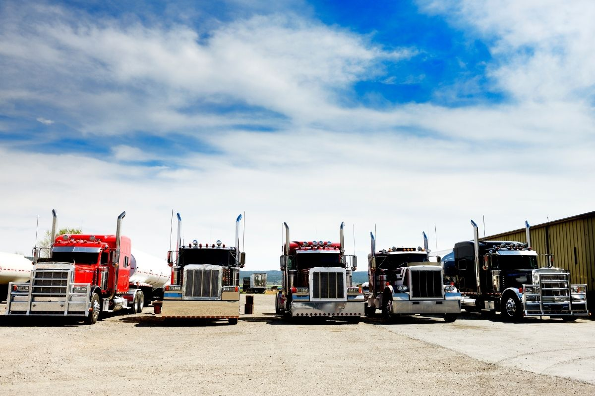 Green hydrogen production - Trucks