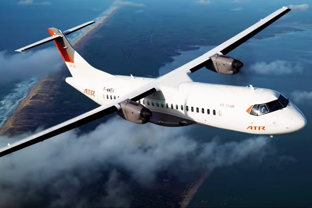Hydrogen fuel aircraft -40 Years of Making a Difference - Proud to be ATR - ATR Aircraft - ATRbroadcast official YouTube