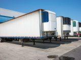 Hydrogen fuel cell trailer -refrigerator trailers