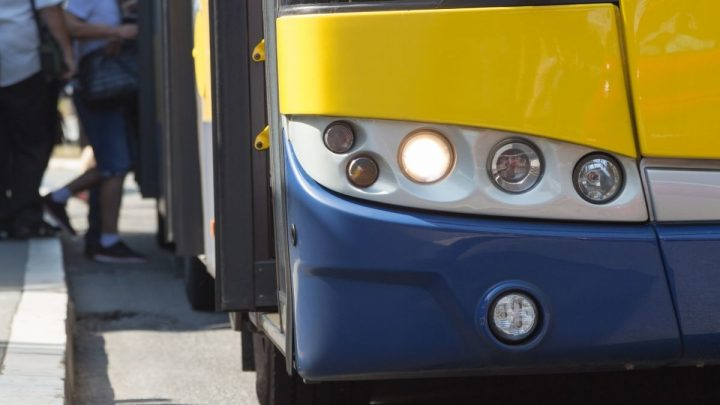 5 New Flyer fuel cell buses added to GET fleet