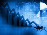 Hydrogen investment - graph - down arrow
