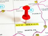New Mexico Hydrogen Plan - Tack pointing out New Mexico on map